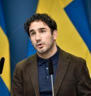 Ardalan Shekarabi. Marko Säävälä/TT / TT NYHETSBYRÅN