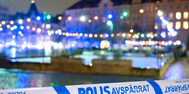 Arkivbild från sprängning i Malmö Johan Nilsson/TT / TT NYHETSBYRÅN