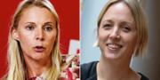 Åsa Westlund och Jytte Guteland. TT