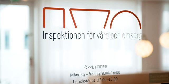 Ivo, Inspektionen för vård och omsorg har tagit emot anmälan. Vilhelm Stokstad/TT / TT NYHETSBYRÅN