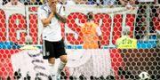 Tysk depp efter att Mexiko kontrat in segermålet. PETTER ARVIDSON / BILDBYR N