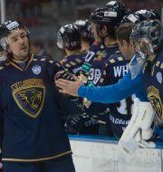 Yevgeny Lapenkov från Sotjis hockeylag, arkivbild. Dmitry Lovetsky / TT / NTB Scanpix