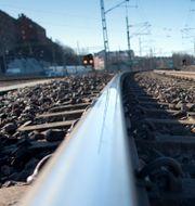Tågspår, arkivbild. BJÖRN LARSSON ROSVALL / TT / TT NYHETSBYRÅN
