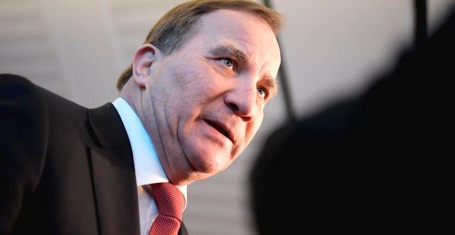 Statsminister Stefan Löfven.  Janerik Henriksson/TT / TT NYHETSBYRÅN