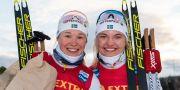 Jonna Sundling och Linn Svahn. MATHIAS BERGELD / BILDBYRÅN