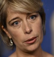 Socialminister Annika Strandhäll. Erik Simander/TT / TT NYHETSBYRÅN