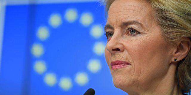 Ursula von der Leyen ALAIN JOCARD / AFP