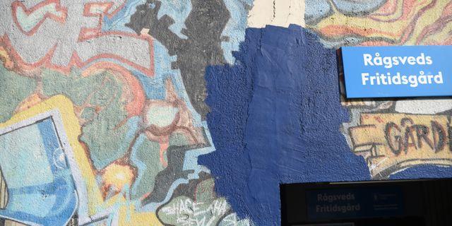 Målningen i Rågsved. Henrik Montgomery/TT / TT NYHETSBYRÅN