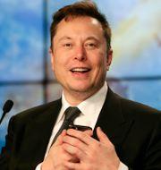 Arkivbild: Elon Musk.  John Raoux / TT NYHETSBYRÅN