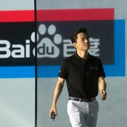 Robin Li, CEO of search giant Baidu, arrives for the Baidu Create 2018 held in Beijing, China, Wednesday, July 4, 2018. The event seeks to connect developers, businesses and individuals to the AI resources of the Chinese search company. Ng Han Guan / TT NYHETSBYRÅN