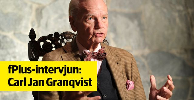Carl Jan Granqvist. Foto: Sören Andersson.