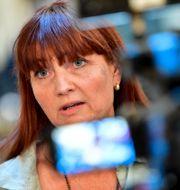 Marie Nilsson, ordförande i IF Metall Jonas Ekströmer/TT / TT NYHETSBYRÅN
