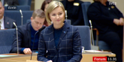 Ebba Busch Thor. SVT