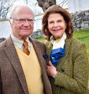 Kung Carl Gustaf och drottning Silvia. Jonas Ekströmer/TT / TT NYHETSBYRÅN
