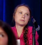 Greta Thunberg.  Shannon Stapleton / TT NYHETSBYRÅN