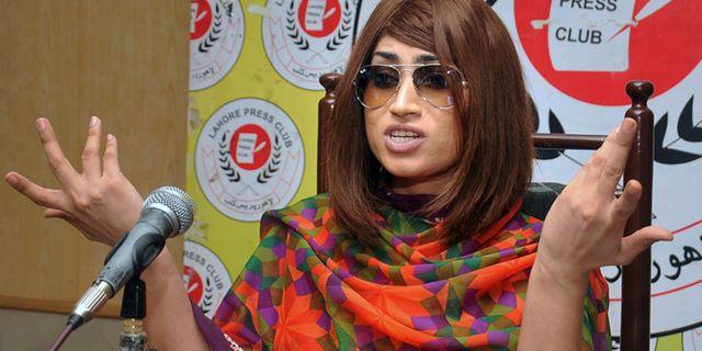 Qandeel Baloch  M. Jameel / TT NYHETSBYRÅN