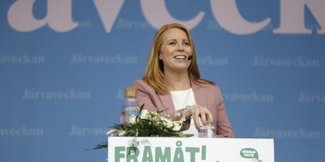 Annie Lööf, partiledare för Centerpartiet. Christine Olsson/TT / TT NYHETSBYRÅN