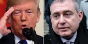 Donald Trump och Lev Parnas. TT