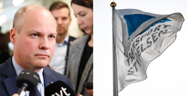 Justitie- och inrikesminister Morgan Johansson (S). TT