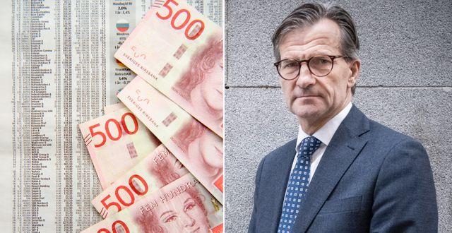 Erik Thedéen, generaldirektör för Finansinspektionen.  TT