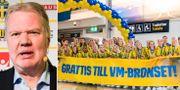 Karl-Erik Nilsson / Svenska damlandslaget.  Bildbyrån