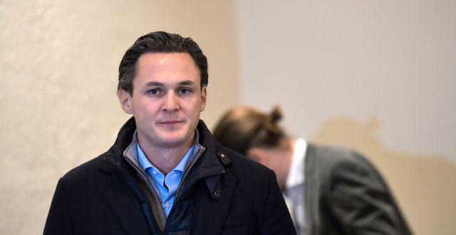 Alexander Ernstberger.  Pontus Lundahl/TT / TT NYHETSBYRÅN
