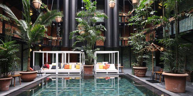 Nordens skönaste pool ligger på hotellet Manon les Suites i Köpenhamn.  Manon les Suites