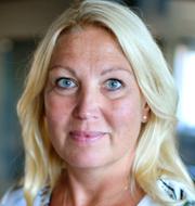LR:s ordförande Åsa Fahlén (till vänster) och Lärarförbundets dito Johanna Jaara Åstrand. TT