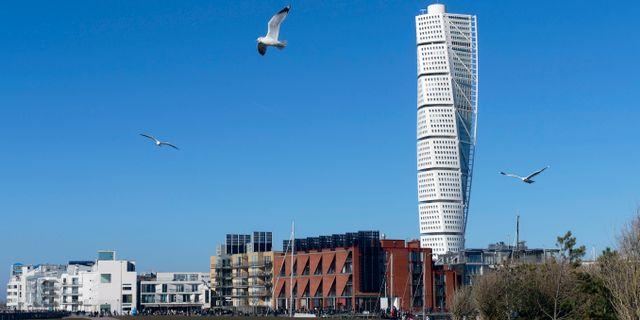 Turning Torso i Malmö Johan Nilsson / TT / TT NYHETSBYRÅN