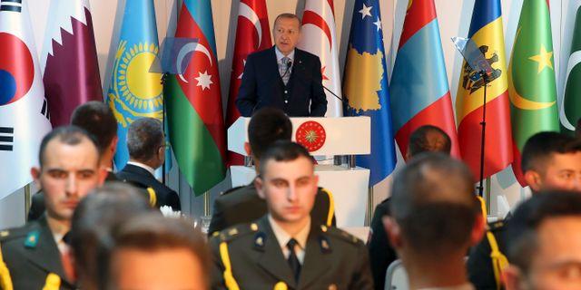 Turkiets president Recep Tayyip Erdogan. TT NYHETSBYRÅN/ NTB Scanpix