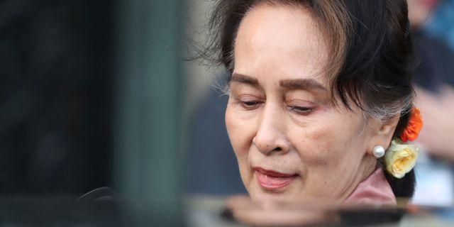 Aung San Suu Kyi YVES HERMAN / TT NYHETSBYRÅN