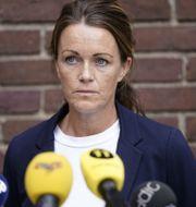 Utredningsledare Anna Bergqvist.  Björn Larsson Rosvall/TT / TT NYHETSBYRÅN