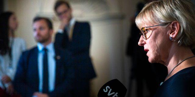 Margot Wallström (S).  Fredrik Persson/TT / TT NYHETSBYRÅN