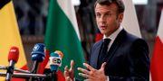 Frankrikes president Emmanuel Macron.  KENZO TRIBOUILLARD / AFP