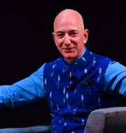 Jeff Bezos.  SAJJAD  HUSSAIN / AFP