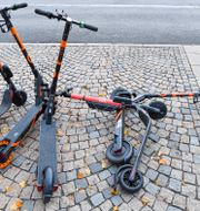 Voi-sparkcyklar/Arkivbild. Jonas Ekströmer/TT / TT NYHETSBYRÅN