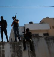 Arkivbild/Beväpnade palestinier Majdi Mohammed / TT NYHETSBYRÅN