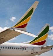 Ethiopian-plan. Mulugeta Ayene / TT NYHETSBYRÅN