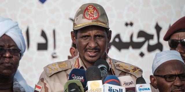 General Mohammed Hamdan Dagalo YASUYOSHI CHIBA / AFP