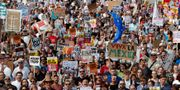Demonstrationerna i London. YVES HERMAN / TT NYHETSBYRÅN
