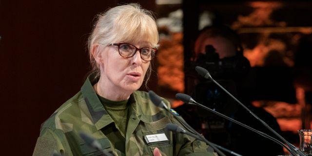 Lena Hallin.  Henrik Montgomery/TT / TT NYHETSBYRÅN