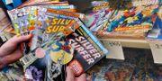 Serietidningar från Marvel. Arkivbild. BOB EDME / TT NYHETSBYRÅN
