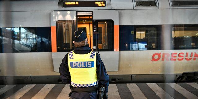 Gränskontroll i Malmö. Arkivbild. Johan Nilsson/TT / TT NYHETSBYRÅN