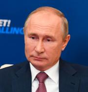 Rysslands Vladimir Putin.  TT.