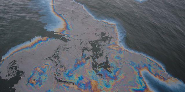 Norska oljeutslappet under kontroll