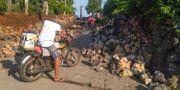 Förödelse i Itbayat i Batanesprovinsen.  Agnes Salengua Nico / TT NYHETSBYRÅN