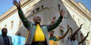 President Cyril Ramaphosa. Jerome Delay / TT NYHETSBYRÅN/ NTB Scanpix