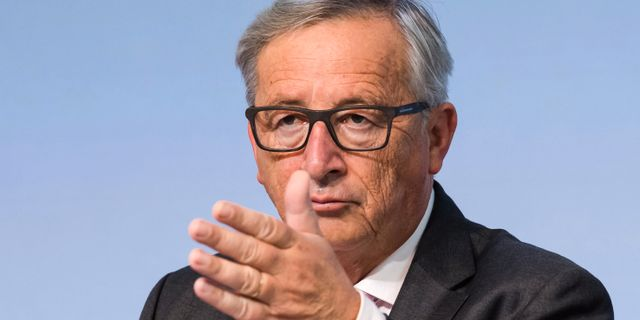 Arkivbild: Jean-Claude Juncker.  Geert Vanden Wijngaert / TT / NTB Scanpix