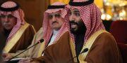 Saudiarabiens Mohammed bin Salman (närmast kameran). Dan Kitwood / TT / NTB Scanpix