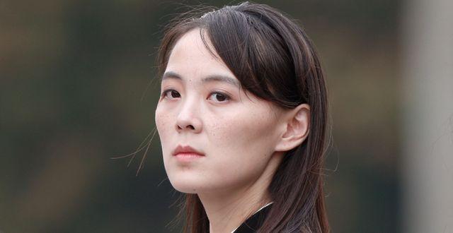 Kim Yo-Jong. Jorge Silva / TT NYHETSBYRÅN